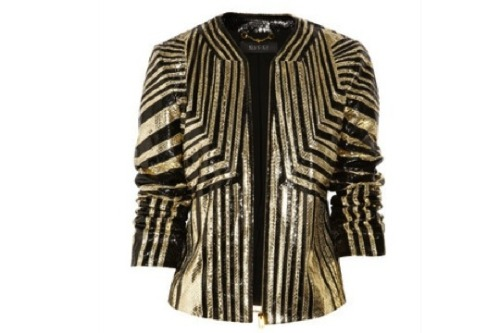 Gucci striped python jacket from SS12. Love.