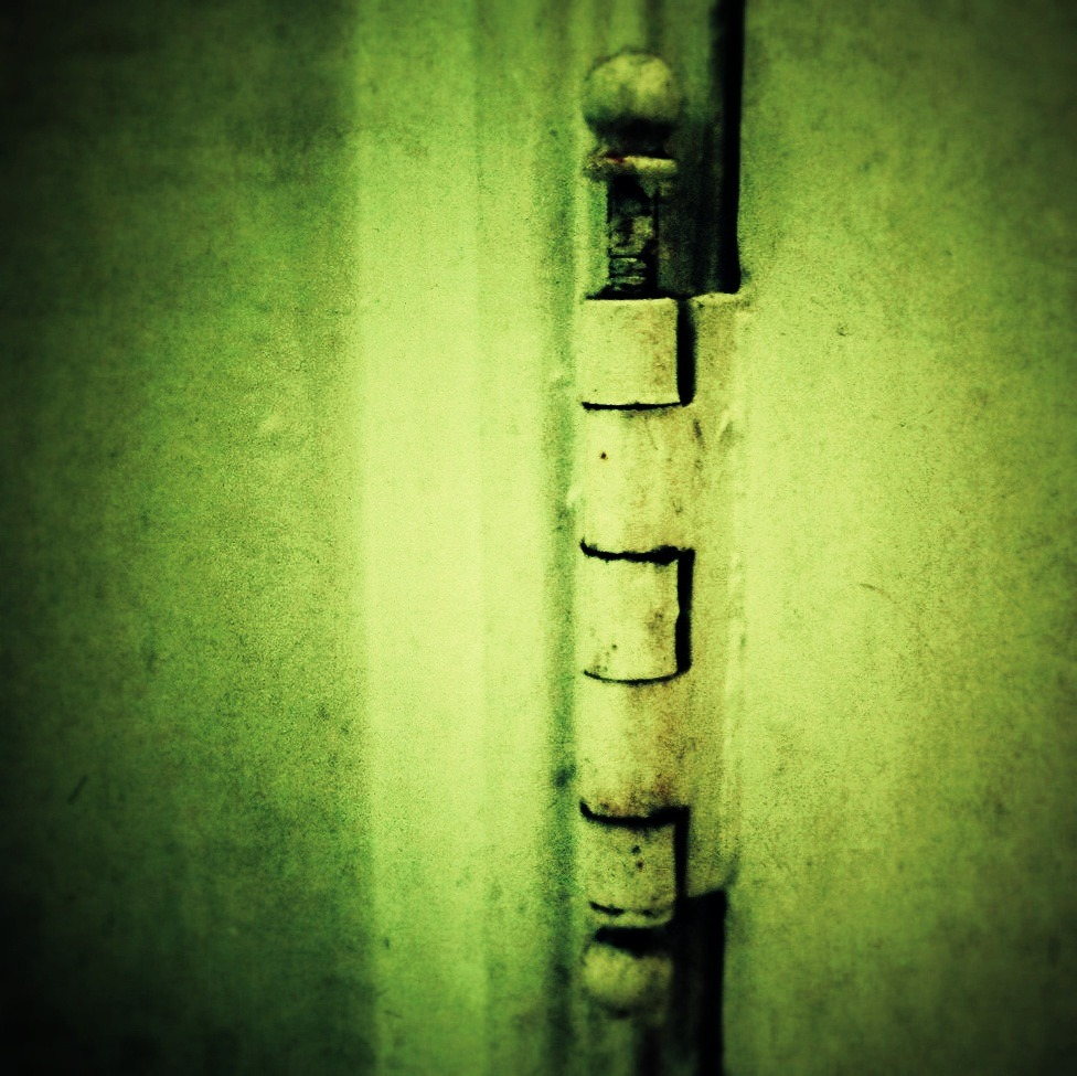 098/365 - 03.19.2012 - 'Hinge' Photo: Zachary Brown - 2012 - iPhone 4 w/ FX Photo Studio, Pixlromatic, Snapseed, & Be Funky This work is licensed under a Creative Commons Attribution-NonCommercial-NoDerivs 3.0 Unported License.