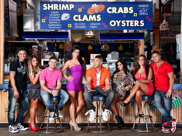 "MTV renews Jersey Shore for a sixth season New Jersey's gyms, tanning salons and laundromats can rejoice; MTV has renewed Jersey Shore for a sixth season. Speaking in corporate speak for Snooki's upcoming little bundle of reality TV joy, MTV's press release promises the upcoming season will see the orange-tinted gang head into ""unchartered territory as their lives outside the Shore take off in exciting new directions."""
