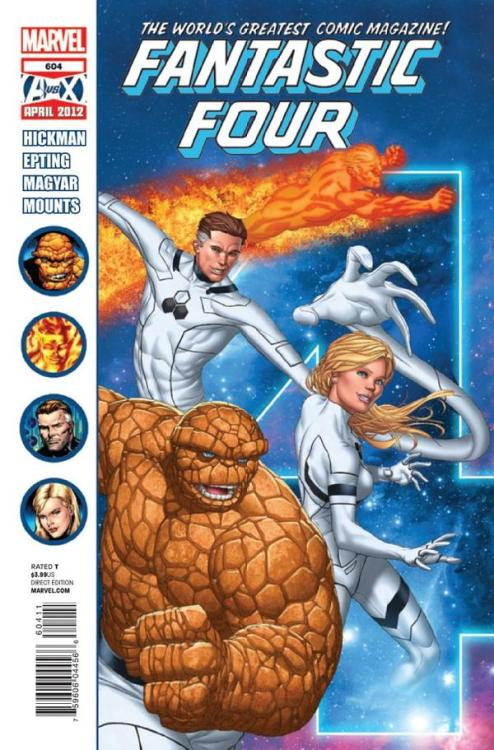 Check out my Review of the Fantastic Four #604!