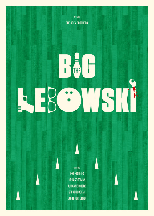 The Big Lebowski by Bruce Yan