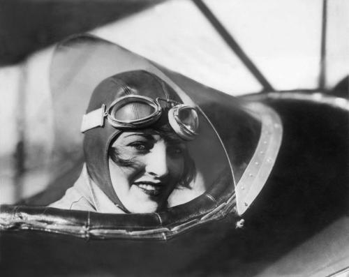 "maudelynn:   Aviatrix Ruth Elder, March 1929. ""  Ruth Elder was a twenty-three year old, some-time actress when she heard of ""Lucky Lindy's"" flight from New York, to Paris. She made up her mind that she would be the first ""Lady Lindy,"" the first woman to fly across the Atlantic. Her stage critics and others immediately held her in ridicule when she made her announcement. Some called her proposed flight a publicity stunt, prompted by Lindbergh's success and designed to help her acting career. In part, they were probably right. The publicity generated by her announcement was good exposure for her career. However, it was more than that. Elder was out to prove that a woman was equal to a man. It was that simple. The ocean crossing that lay ahead of her was far from simple, however."" read more about Ruth here; http://www.women-in-aviation.com/cgi-bin/links/detail.cgi?ID=492"
