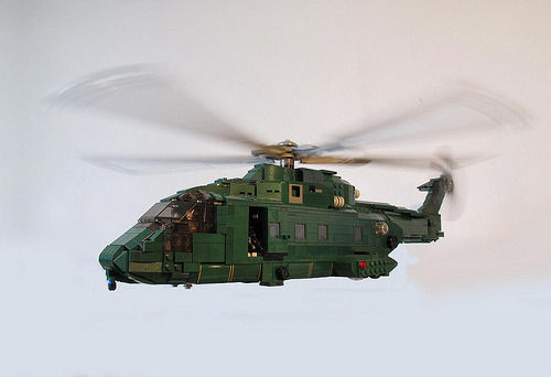 LEGO AW101 Merlin HC3 (by Simon T James)
