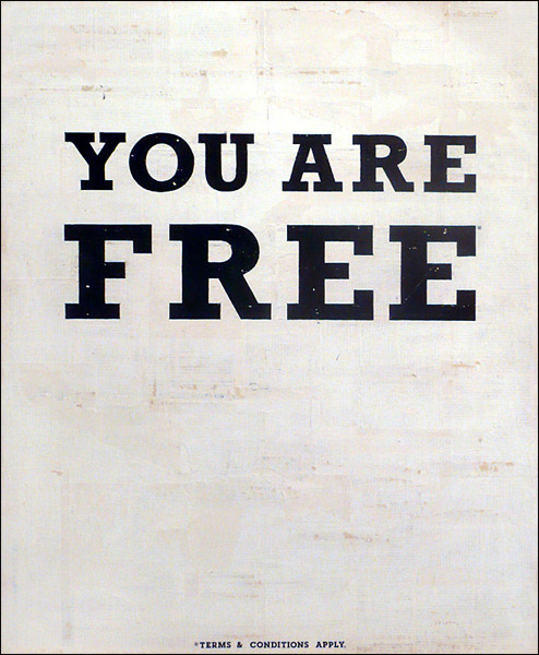 "lacarpa:   Kareem Rizk  ""YOU ARE FREE NO. 5"""