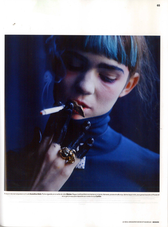 Grimes for Modzil Magazine