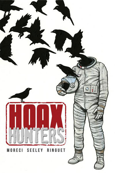 The Hoax Hunters blast off to Mother Russia. Any fans of the paranormal who found themselves disenchanted with The X-Files are destined to find the tongue-in-cheek tone ofHoax Hunters a welcome treat.  Writers Michael Moreci and Steve Seeley created a fun and humorous new title that chronicles the reality TV show Hoax Hunters, a mere public front for a rag-tag paranormal group that  seeks out the most bizarre and strange rumors just waiting to be covered up.  Read more at http://www.brokenfrontier.com/reviews/p/detail/hoax-hunters-0