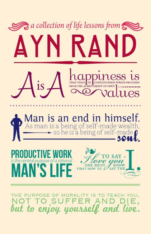 anarchei:  Ayn Rand + Typography = Win