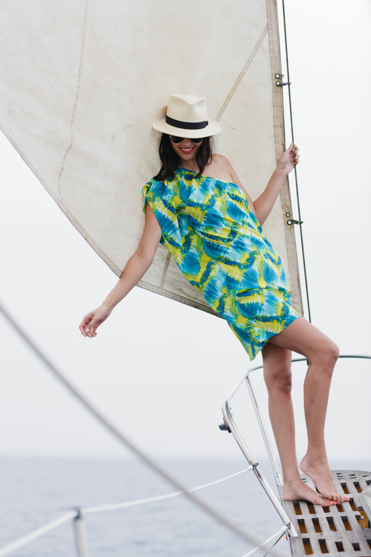 Our Brushstroke Silk Kaelin Dress