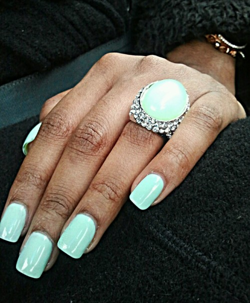 minty… Revlon - Minted is my current fave :)