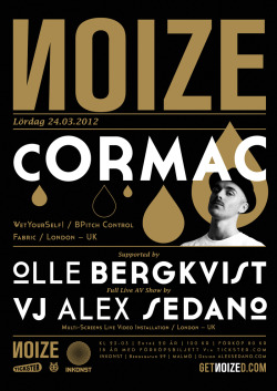 NOIZE with Cormac (March, 2012) A2 Poster