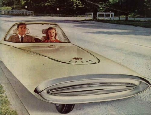 space-age-planet:  Space Age Car  Hop in!