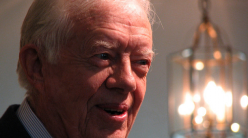 "holygoddamnshit:  JIMMY CARTER:  'IT IS VERY FINE FOR GAY PEOPLE TO BE MARRIED' Former President Jimmy Carter expressed his approval of same-sex marriage in an interview withThe Huffington Post about his faith Monday evening. While discussing certain portions of The Bible, Carter was asked his thoughts on some people using scriptures as opposition toward LGBT individuals being allowed in church. ""Homosexuality was well known in the ancient world, well before Christ was born and Jesus never said a word about homosexuality,"" Carter said. ""In all of his teachings about multiple things -– he never said that gay people should be condemned. I personally think it is very fine for gay people to be married in civil ceremonies."" The 39th president, who is releasing a new book about his faith titled ""NIV Lessons from Life Bible: Personal Reflections with Jimmy Carter,"" also discussed how all churches shouldn't be required to follow the same rules. ""I draw the line, maybe arbitrarily, in requiring by law that churches must marry people,"" he said. ""I'm a Baptist, and I believe that each congregation is autonomous and can govern its own affairs. So if a local Baptist church wants to accept gay members on an equal basis, which my church does by the way, then that is fine. If a church decides not to, then government laws shouldn't require them to."" http://www.rawstory.com/rs/2012/03/20/jimmy-carter-it-is-very-fine-for-gay-people-to-be-married/"