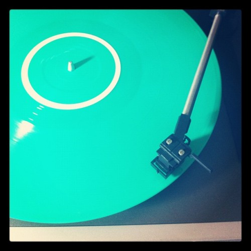 day 17 | green #marchphotoaday @fatmumslim #marchphotochallenge #green #vinyl #marsimoto #greenvinyl #day17 (Taken with instagram)