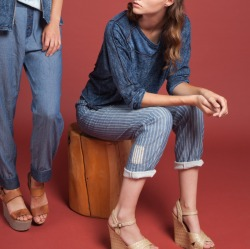 Buru Top, Plantation Pant, Almanac Pant, Burning Torch Spring 2012 Lookbook