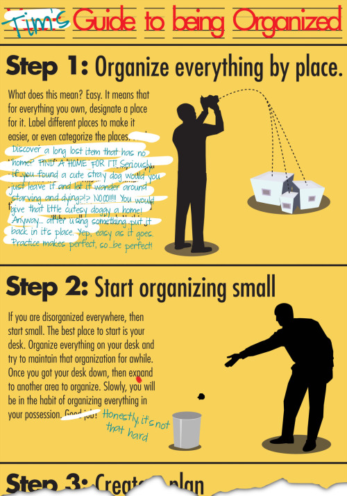 Tim's Guide to being Organized — Illustrator CS5