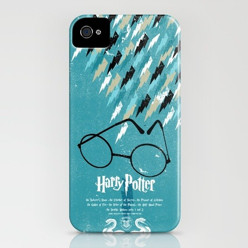 nosupervision:  Need a Harry Potter iPhone case? http://society6.com/AdamJuresko/Harry-Potter-The-Complete-Series_iPhone-Case  I would seriously get an Iphone for this. goddamndroid.