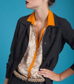 Sunburst Top, Jane Top, Burning Torch Spring 2012 Lookbook