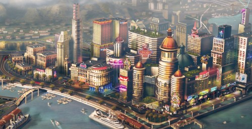 "The new SimCity will let you take control of a city's environmental destiny:  ""You start your city without any money, and you could exploit the coal seams underneath the city and start digging coal out of the ground and make a city that's pretty filthy, one that's built on burning coal for power, might have a lot of coal-sustained industries around it and would make me a ton of money as a player. In the long term that would sort of blight the prospects of the city."" In that coal-dependent city, there would be little natural beauty and excessive air and ground pollution, not to mention citizens suffering from coal-related health problems. Alternatively, players could opt for other sources of energy—gas-fired power plants, solar panels, wind turbines, or nuclear power. All of these sources have their drawbacks. Solar panels, for example, take up a lot of space and produce less power for the money when compared to coal…"