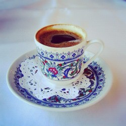 Turkish coffee. #istanbul #turkey #coffee