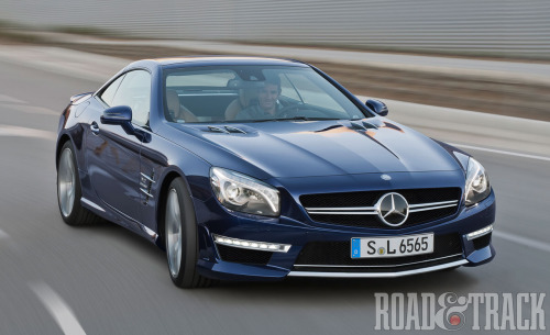 The 621 bhp twin-turbo V-12 2013 Mercedes-Benz SL65 AMG wil makes its mark at the 2012 New York Auto Show. (Source: Road & Track)