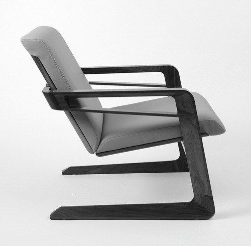 wearehidden:  SIT|BACK     This chair is an update of the original. Met the designer, and sat in this version last year at ICFF. Which is where I'll be this May.  - W2K