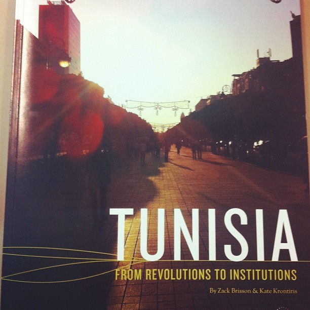 New report on Tunisia, by @zbrisson & @katekrontiris, added to my reading list: http://www.infodev.org/tunisia (Taken with instagram)