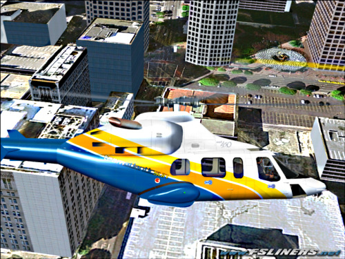 FS2004Bell 430Los Angeles
