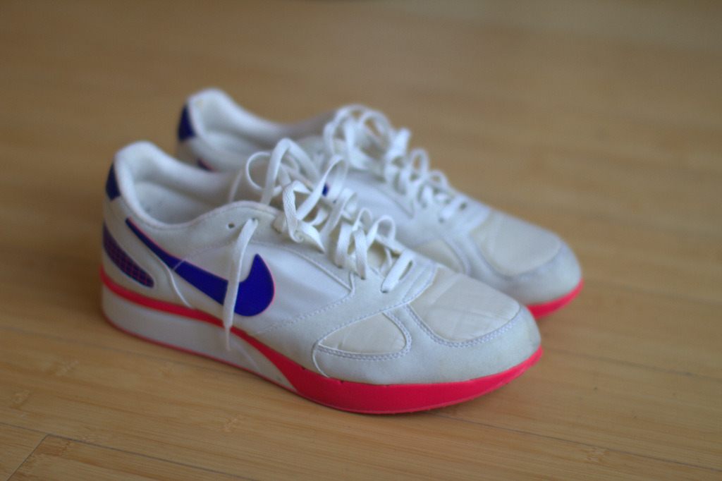 plaintshirt:  Summer Shoes. Air Mariah PR's 3-20-12.   Man I love these shoes.   Definitely my favorite pair.