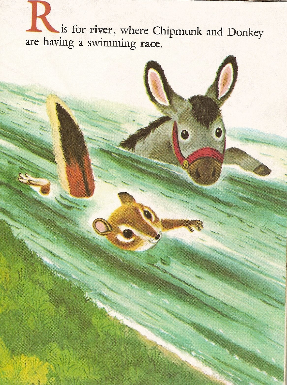 moncabinetdecuriosites:  Richard Scarry's Chipmunk's ABC by Roberta MillerIllustrated by Richard Scarry, Western Publishing Company, 1963  via here