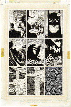 original art from the killing joke