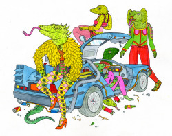lisahanawalt:  Lizards Back From the Future