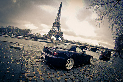 carpr0n:  Operation Paris Starring: Honda S2000 (by Koni Paris)