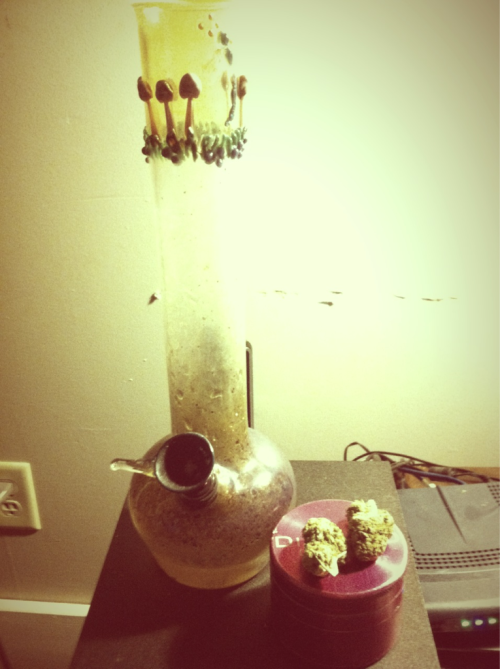 meeep. love my bong (: