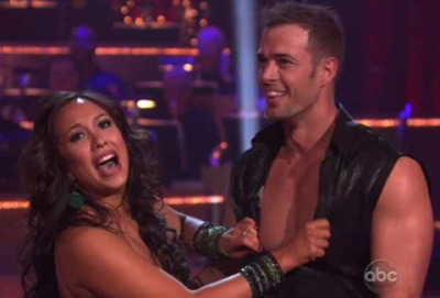 "William Levy on Dancing With The Stars – by Popular Demand Here it is.  ¡No me peguen please!  I wasn't really planning on posting about William Levy's debut on Dancing With The Stars, last night, but so many of you have been making the request that… well, here are the pictures of the Cuban born ""Latin hottie"" prepping and dancing his first Cha Cha Cha for ABC.  Apparently he was a big hit as he was blowing up my social media streams last night.  And if you didn't get a chance to watch William's first dance, you can catch him on the show again tonight at 9