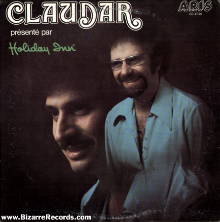 Album Cover: Claudar presented by Holiday Inn