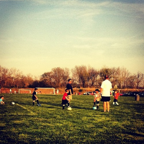1st practice of the season… (Taken with instagram)