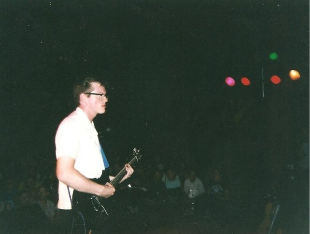 YOGO GOOGOO PIC 1997 Yo-Yo-a-Go-Go 1997. At the Capitol Theater in Olympia, WA. This is the show I played with Chris Smith from KARP on drums.  I played two of the YOYO fests it might have been this one or maybe the other one that KARP played one of the most amazing shows I've ever seen. Chris borrowed my guitar to play that show, the one I'm playing in this photo. I'll do a whole post about my guitar.