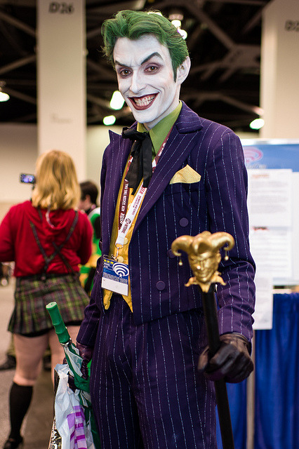 sadademort:  herpderpwhattheglub:  THIS GUY IS THE BEST JOKER. NO EXCUSES.  I think I just conceived.