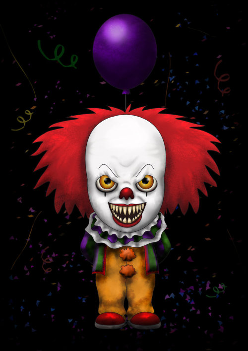 allthingsking:  Pennywise by ~Lauramei It's Pennywise Wednesday!