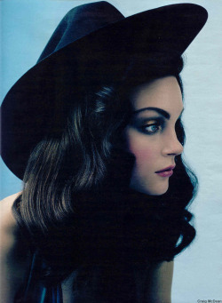 Jessica Stam in the March 2004 issue of W Magazine, photographed by Craig McDean.