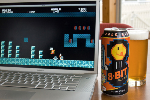 pacalin:  The Right Beer For the Occasion Photo by Gamelaner via: it8bit
