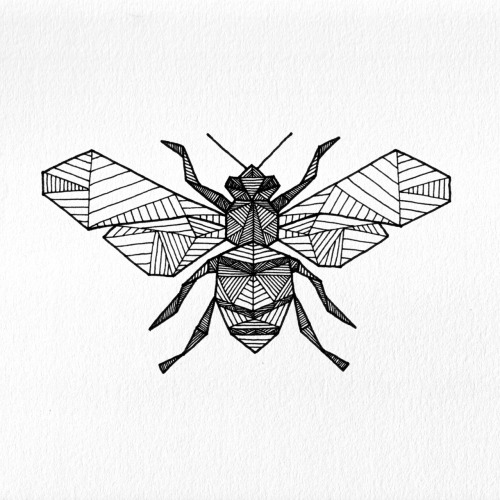 Geometric Bee - Allison Kunath