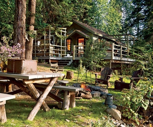 mountainhomes:  Deer Cabin, Architectural Digest