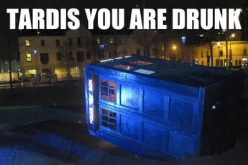 nerdygeekychic:  Tardis behave yourself