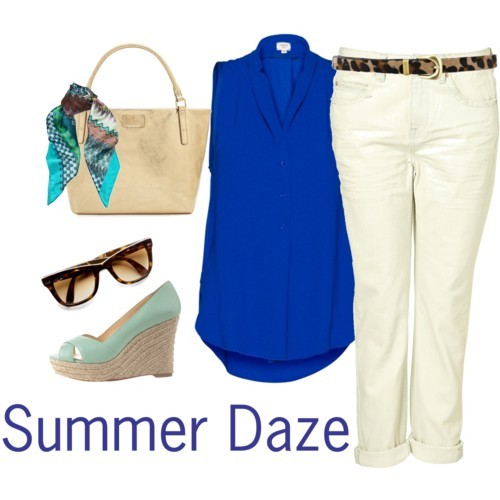Summer Daze by icey0701 featuring embossed handbags