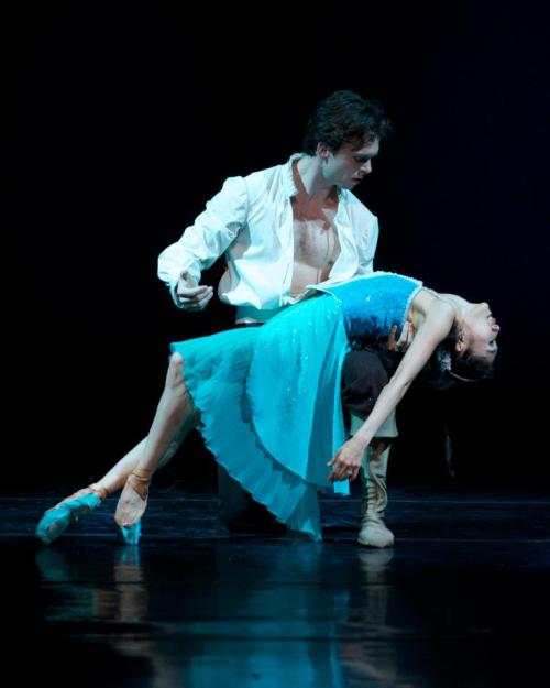 Gabor and Peggy (married in real life!) in Carolina Ballet's, The Little Mermaid