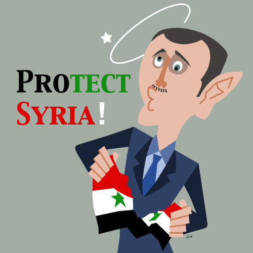 Protect Syria, NOT his regime. 21/03/2012
