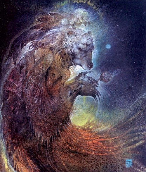 thegreenwolf:  I LOVE Susan Seddon Boulet's work; very distinctive.