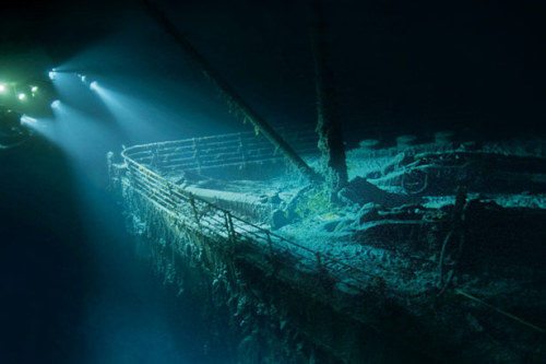 Ever wonder what the ruins of the Titanic look like up close? Thanks to National Geographic, wonder no longer. Some stellar visuals gathered here, all thanks to the very difficult work of the Woods Hole Oceanographic Institution, which spent many months poring over the below-the-ocean work. Oh, and spend a nice long while poring over the gallery. Trust us.