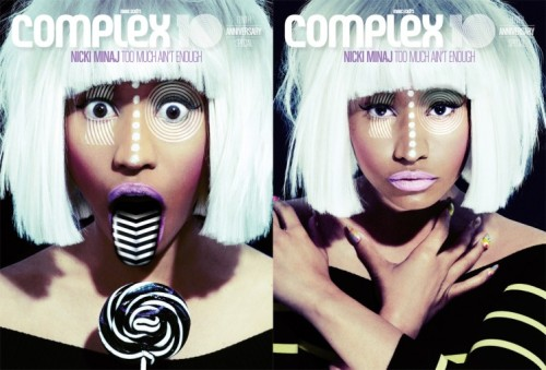 Nicki Minaj Says She Deserves Her F*cking Credit In COMPLEX Magazine…  Inside the magazine, the rapper discusses her megastardom, how she's the brainchild behind her own success (she says she manages herself but still has a management team) and how she goes about setting her goals. Basically she's saying she has the last word if she disagrees with management—like most artists do who aren't blind pushovers.  She says she never gets credit for what she contributes to the moves she makes. HERE are the highlights…